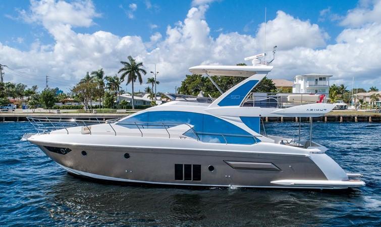 Port Profile 2016 AZIMUT 50 Flybridge Cruiser 2687549