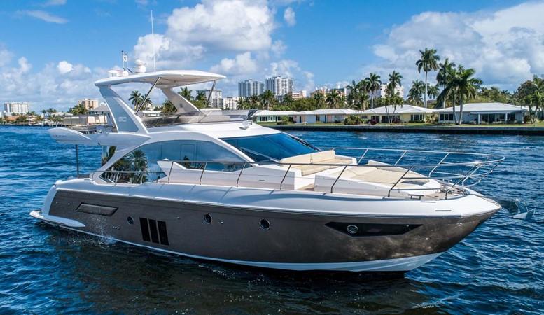 Starboard Profile 2016 AZIMUT 50 Flybridge Cruiser 2687553