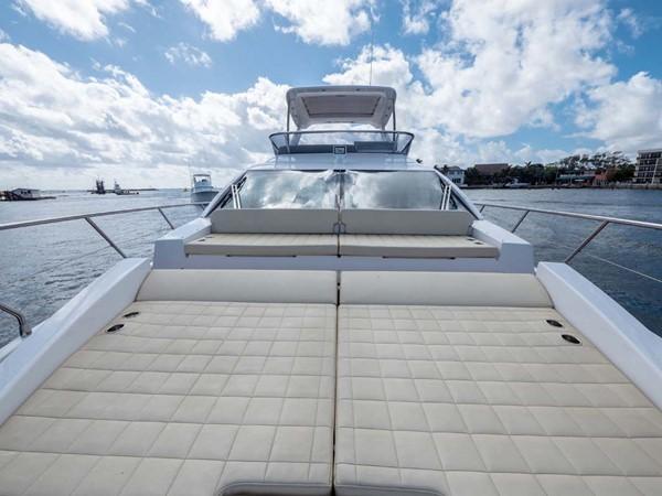 Foredeck Sun Pad 2016 AZIMUT 50 Flybridge Cruiser 2687558