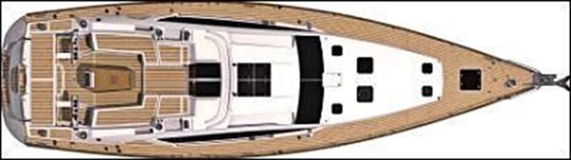 2014 JEANNEAU 57 Cruising Sailboat 2591189