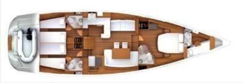2014 JEANNEAU 57 Cruising Sailboat 2591249
