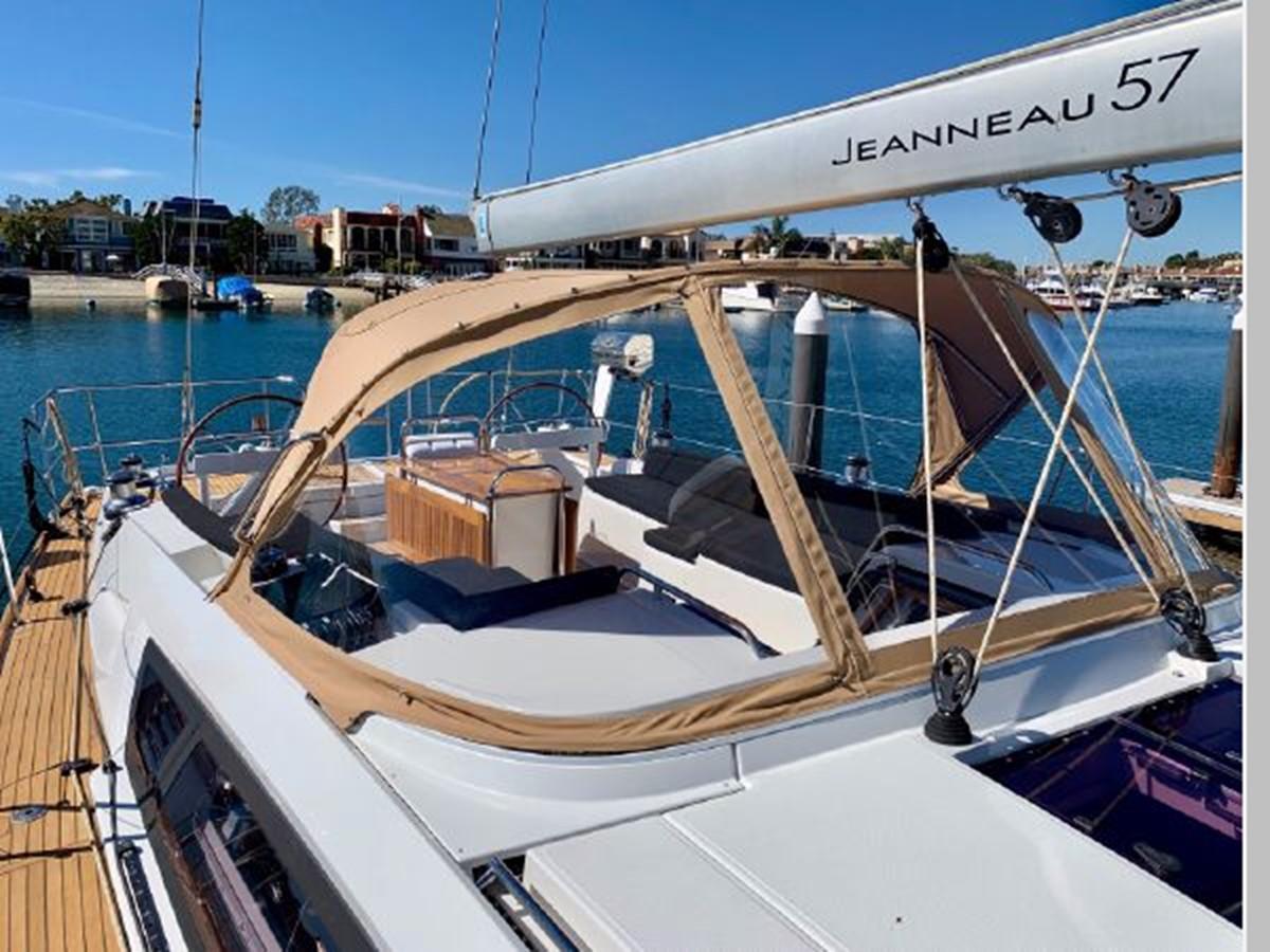 2013 JEANNEAU 57 Cruising Sailboat 2591386