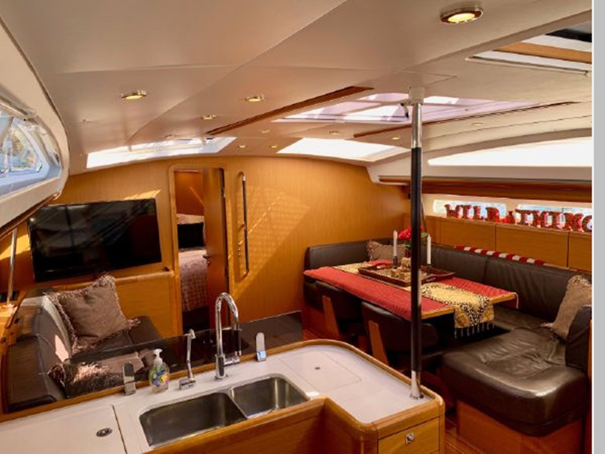 2013 JEANNEAU 57 Cruising Sailboat 2591438
