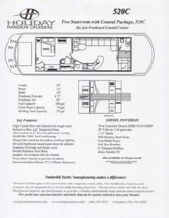 2008 HOLIDAY MANSION Cruiser Houseboat 2591515