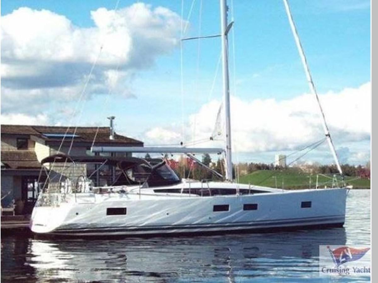 2016 JEANNEAU 54 Cruising Sailboat 2591527