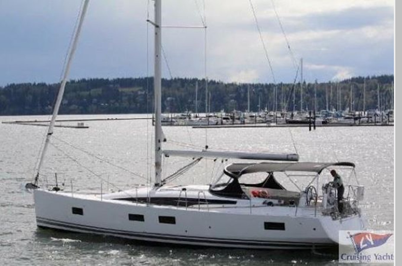 2016 JEANNEAU 54 Cruising Sailboat 2591528