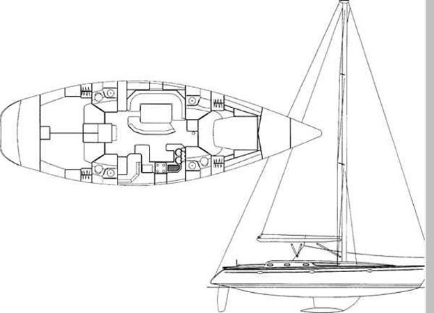 1996 JEANNEAU Sun Odyssey 52.2 Cruising/Racing Sailboat 2591733