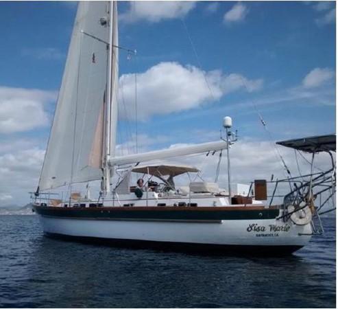 1985 PASSPORT YACHTS 51 Cruising Sailboat 2592863