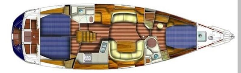 2006 JEANNEAU 49 DS Cruising/Racing Sailboat 2593292