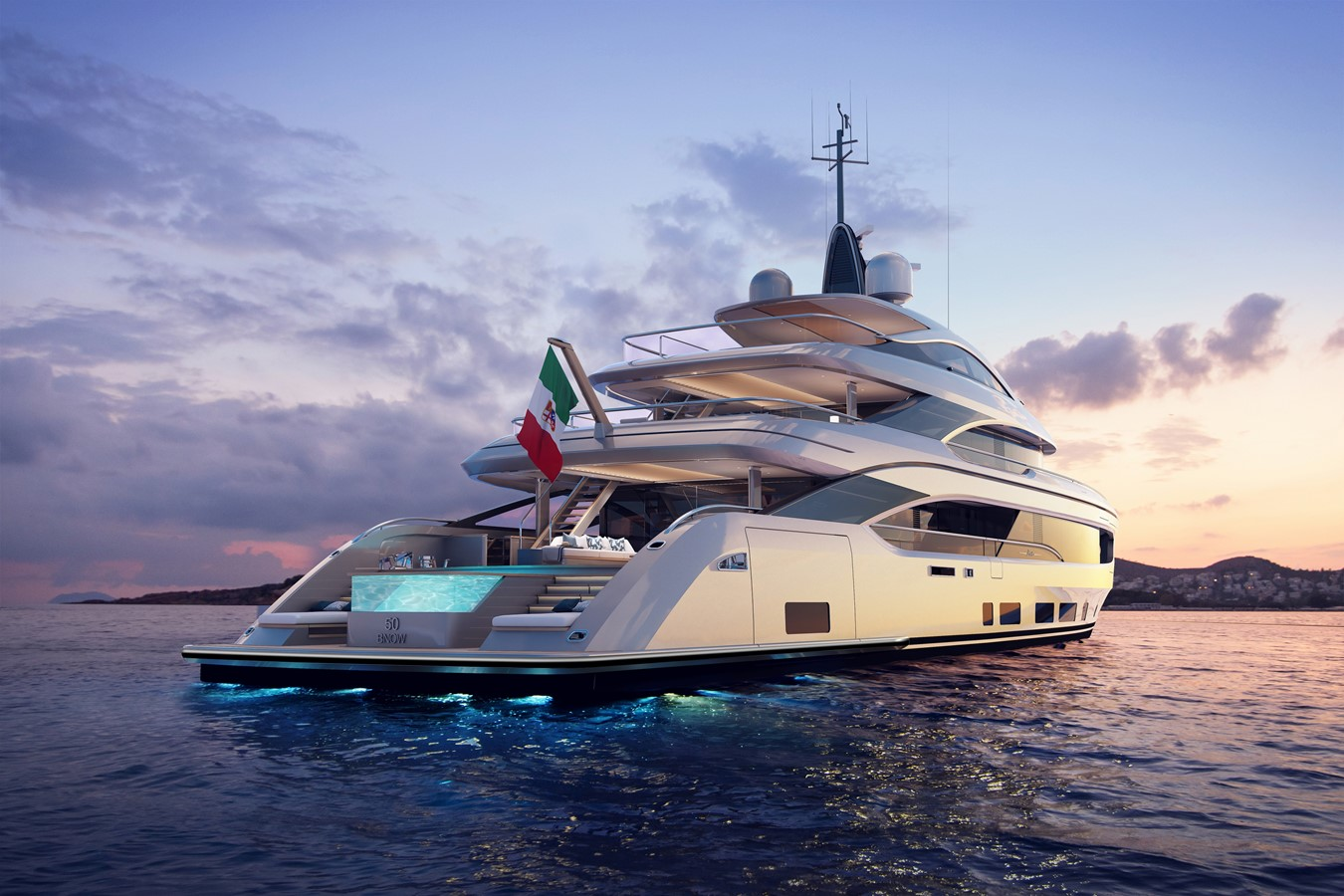 2022 BENETTI Steel and Aluminum M/Y Motor Yacht 2594100