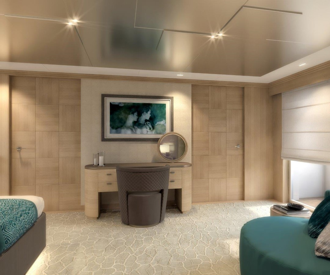 Master Stateroom - Classic Interior 2022 BENETTI Steel and Aluminum M/Y Motor Yacht 2617399