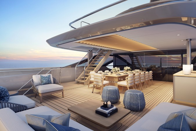 2021 BENETTI Steel and Aluminum M/Y Motor Yacht 2594095
