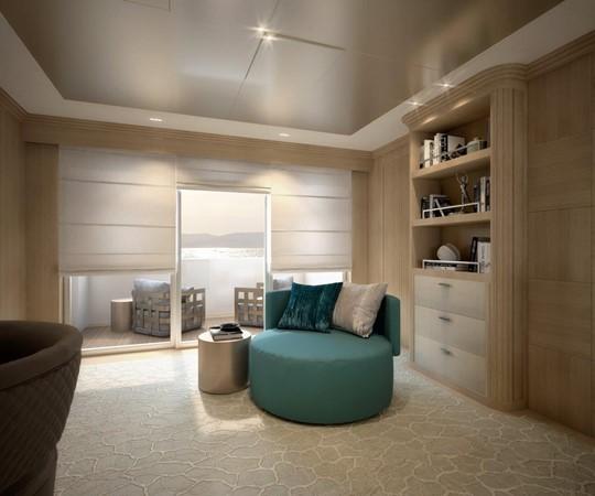 Master Stateroom - Classic Interior 2021 BENETTI Steel and Aluminum M/Y Motor Yacht 2604732