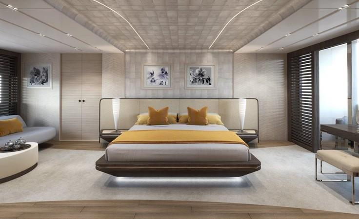 Master Stateroom - Modern Interior 2021 BENETTI Steel and Aluminum M/Y Motor Yacht 2604738