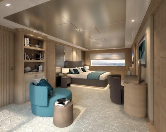 Master Stateroom - Classic Interior 2021 BENETTI Steel and Aluminum M/Y Motor Yacht 2617398