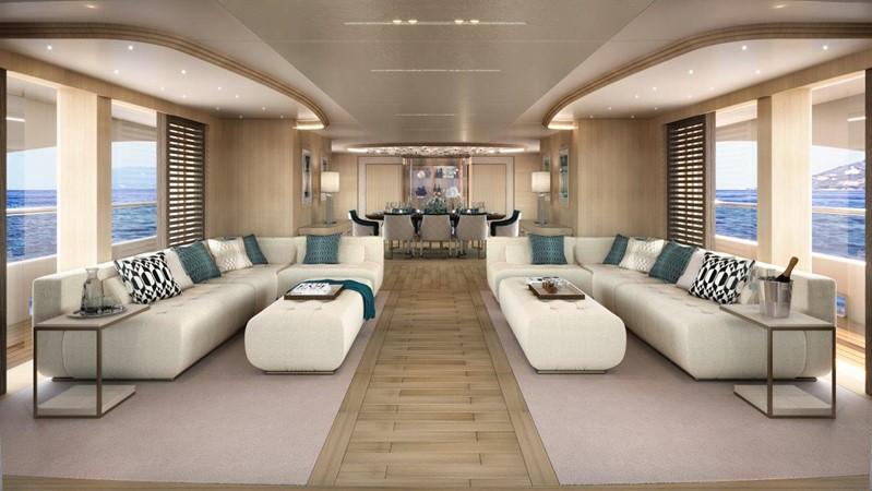 Main Salon - Classic Interior 2021 BENETTI Steel and Aluminum M/Y Motor Yacht 2617401