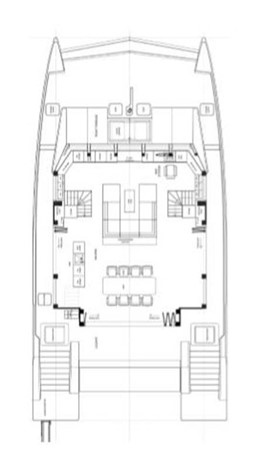 Salon Layout 2018 SUNREEF 68 Supreme Power Catamaran 2595686