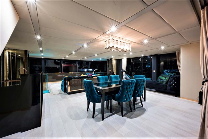 Dining Room 2018 SUNREEF 68 Supreme Power Catamaran 2595695
