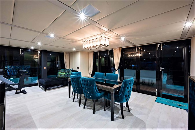 Dining Room 2018 SUNREEF 68 Supreme Power Catamaran 2595697