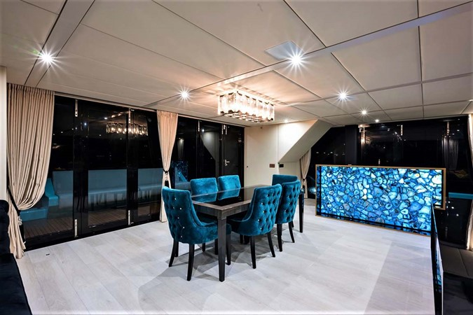 Dining Room and Bar 2018 SUNREEF 68 Supreme Power Catamaran 2595699