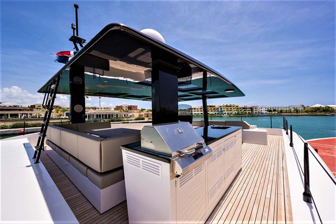 Flybridge Grill 2018 SUNREEF 68 Supreme Power Catamaran 2595753
