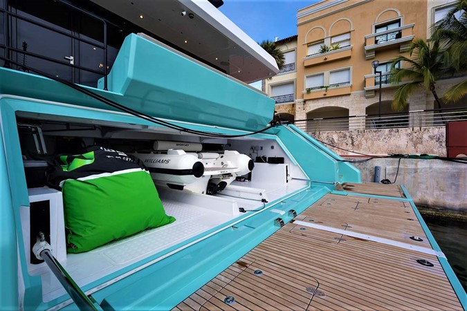 Swim Platform and Garage 2018 SUNREEF 68 Supreme Power Catamaran 2595777
