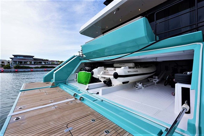 Swim Platform and Garage 2018 SUNREEF 68 Supreme Power Catamaran 2595778