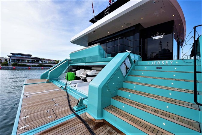 Swim Platform and Garage 2018 SUNREEF 68 Supreme Power Catamaran 2595779