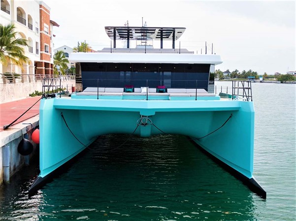 Bow View at Dock 2018 SUNREEF 68 Supreme Power Catamaran 2595794