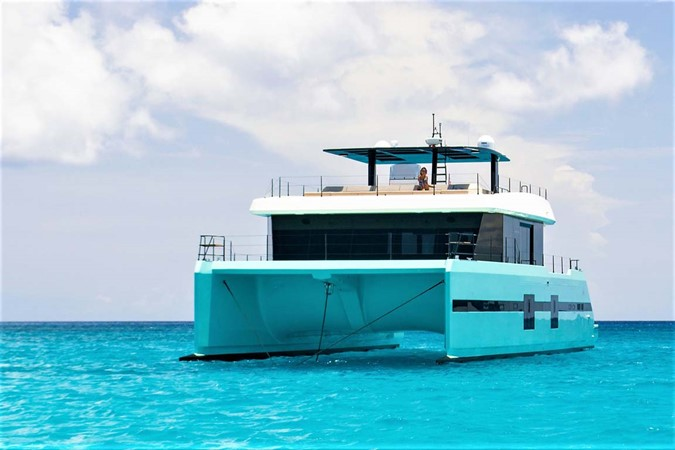 Bow at Anchor 2018 SUNREEF 68 Supreme Power Catamaran 2595804