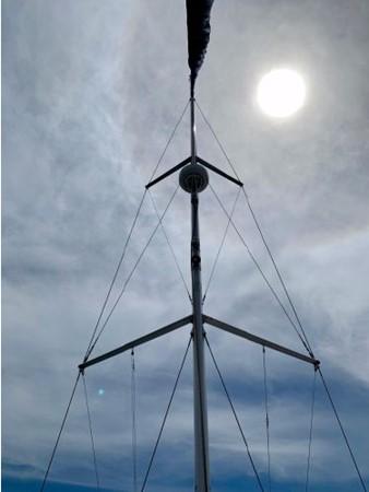 2011 HUNTER 45 Deck Salon Cruising/Racing Sailboat 2595070