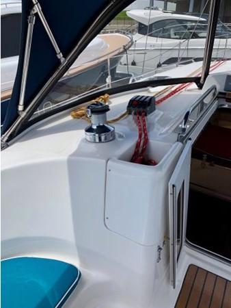 2011 HUNTER 45 Deck Salon Cruising/Racing Sailboat 2595087