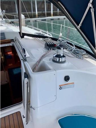 2011 HUNTER 45 Deck Salon Cruising/Racing Sailboat 2595089