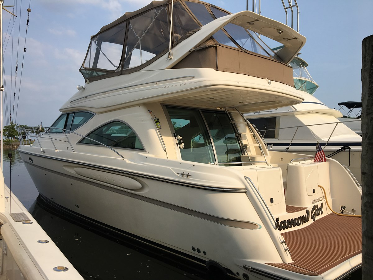 IMG_6036 2001 MAXUM 4600 SCB Motor Yacht 2596363