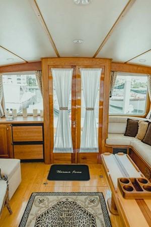Salon aft 2007 CUSTOM Downeast Eastbay Style Cruiser 2597039