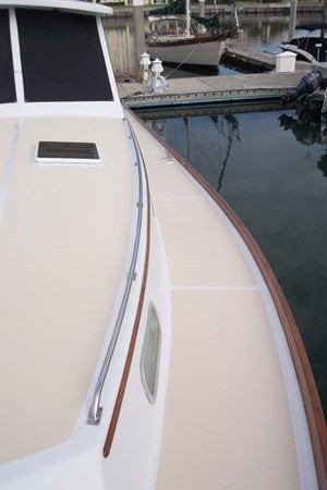 Port Side Deck 2007 CUSTOM Downeast Eastbay Style Cruiser 2597061