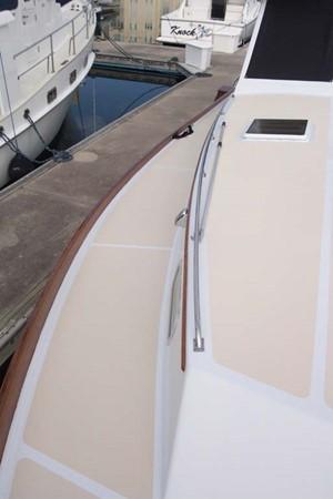 Stbd Side Deck 2007 CUSTOM Downeast Eastbay Style Cruiser 2597062