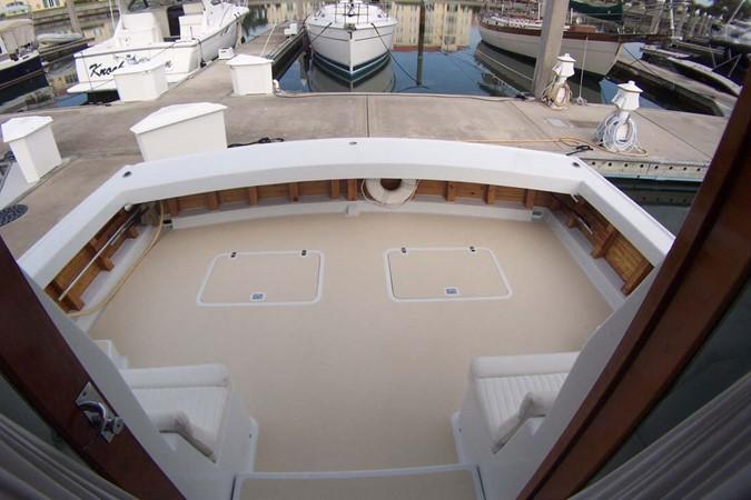 Cockpit aft 2007 CUSTOM Downeast Eastbay Style Cruiser 2597066