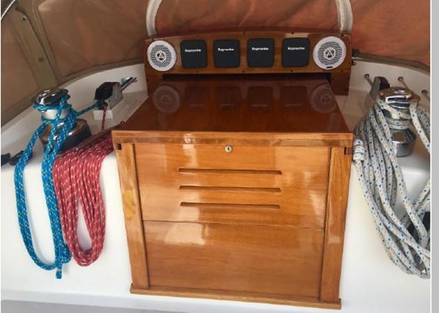1989 HINCKLEY Sou'wester 42 Cruising Sailboat 2597854