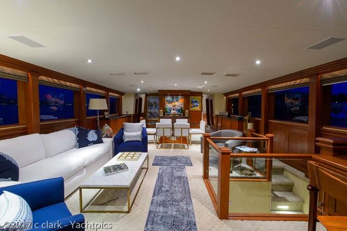 Main Salon 1999 BROWARD Motor Yacht Motor Yacht 2598509