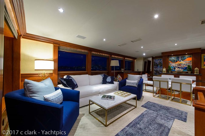 Main Salon 1999 BROWARD Motor Yacht Motor Yacht 2598510