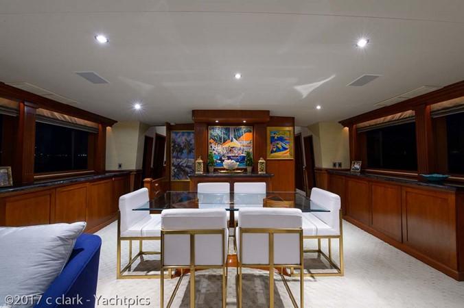 Main Salon Dining 1999 BROWARD Motor Yacht Motor Yacht 2598514
