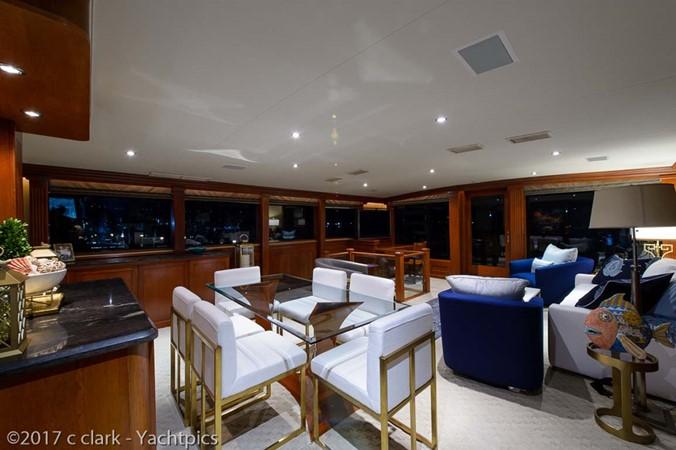 Main Salon Dining 1999 BROWARD Motor Yacht Motor Yacht 2598515