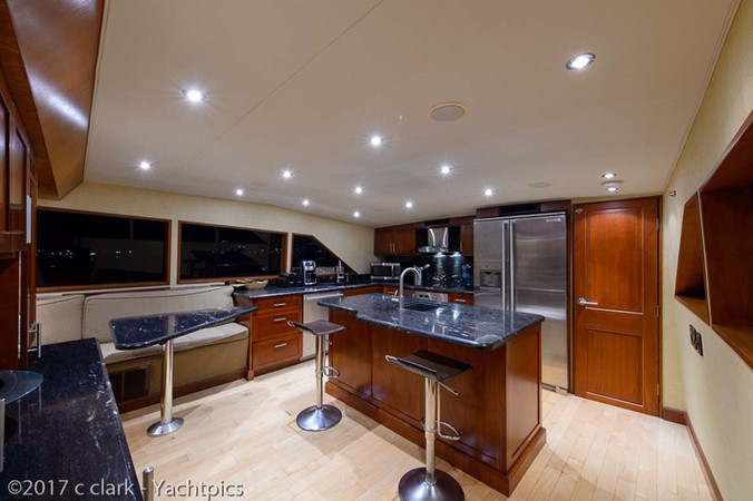 Galley and Dinette 1999 BROWARD Motor Yacht Motor Yacht 2598516