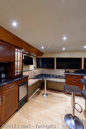 Galley and Dinette 1999 BROWARD Motor Yacht Motor Yacht 2598522