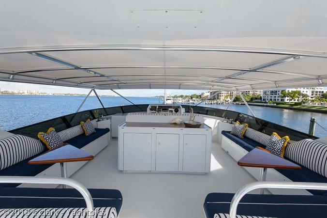 Flybridge Seating 1999 BROWARD Motor Yacht Motor Yacht 2598570