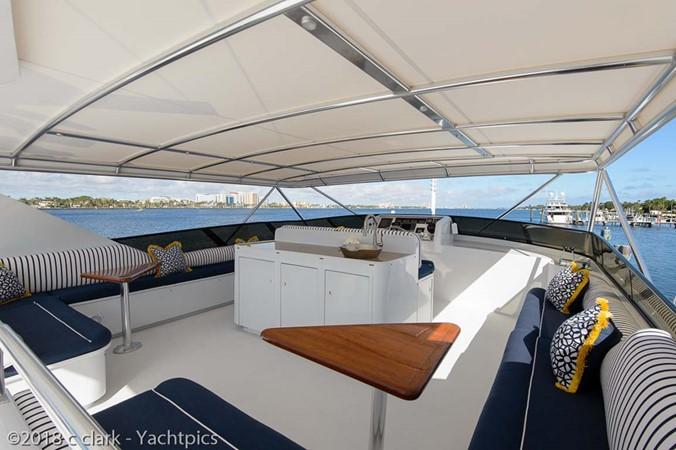 Flybridge Starboard Seating 1999 BROWARD Motor Yacht Motor Yacht 2598571