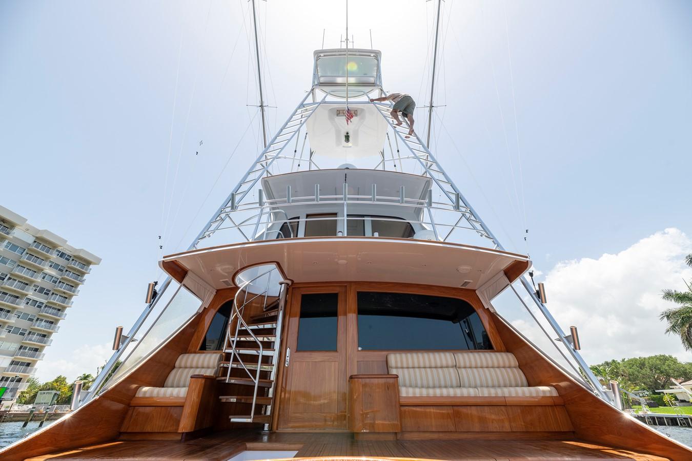 Aft - View up to Tower 2011 MERRITT BOAT WORKS Enclosed Bridge  Sport Fisherman 2598738