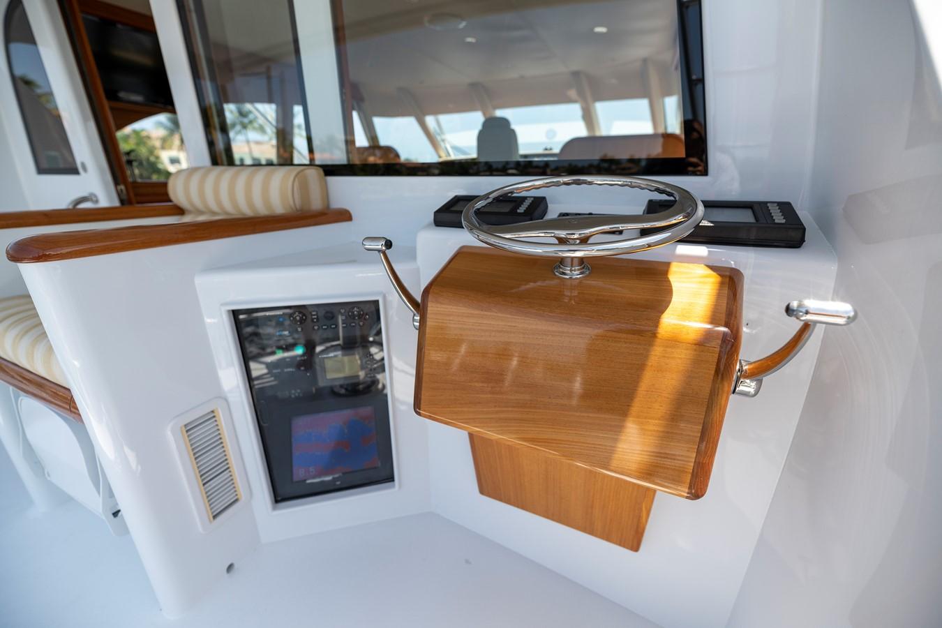 Aft Bridge Controls 2011 MERRITT BOAT WORKS Enclosed Bridge  Sport Fisherman 2598741
