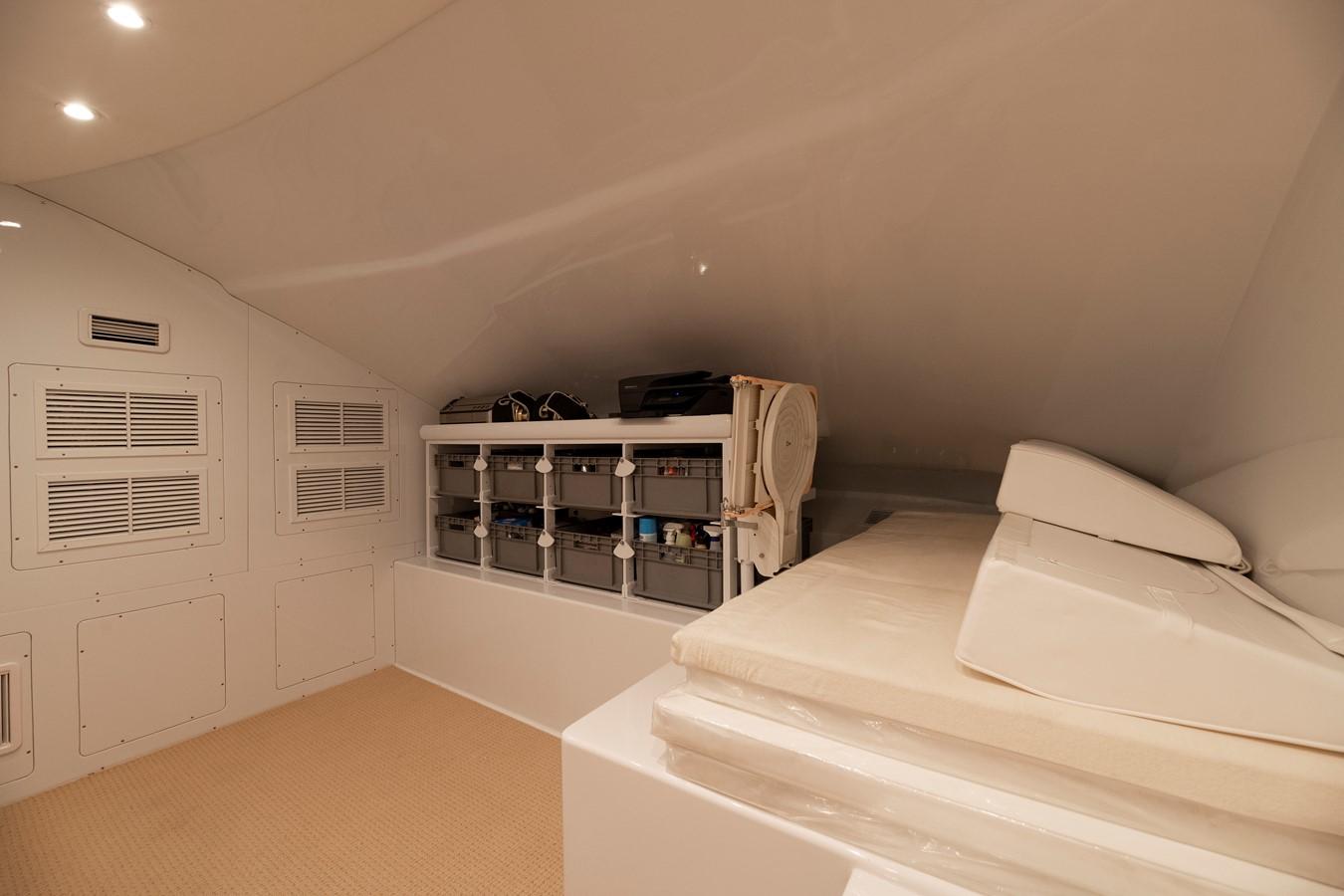 Electric Room and Pantry 2011 MERRITT BOAT WORKS Enclosed Bridge  Sport Fisherman 2598742